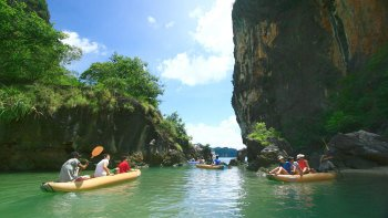 Ao Phang Nga National Park Kayak Adventure