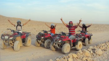 Desert Safari Tour by Quad Bike