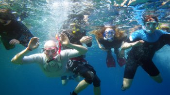Sharm el Naga Bay Snorkelling Trip with Lunch