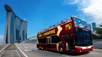 Big Bus Singapore Hop-on Hop-off Tour