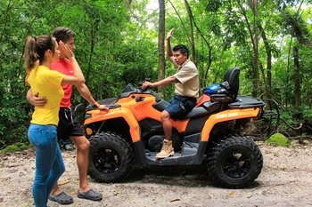 Quad bike Adventure to Jade Cavern