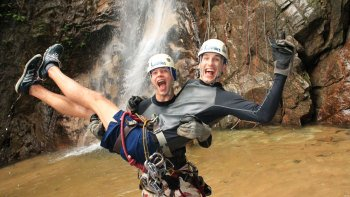 Ultimate Outdoor Adventure Waterfalls, Zip line & Waterslides