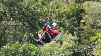 Sarapiqui Canopy Zip-line & Rainforest Adventure with Lunch