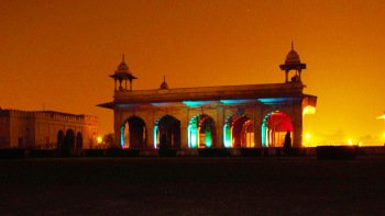 Sound & Light Show at the Red Fort with Dinner