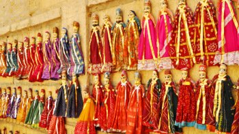 Jaipur Kathputli Puppet Show with Dinner & Private Transfers