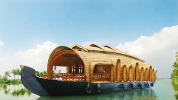 Private Houseboat Cruise along the Alleppey Backwaters with Lunch