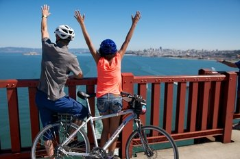 Self-Guided Bike Rental: Best views of Alcatraz and the Bay!