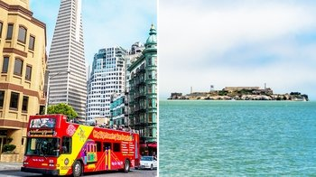 3-Day Hop-On Hop-Off & Alcatraz Tour