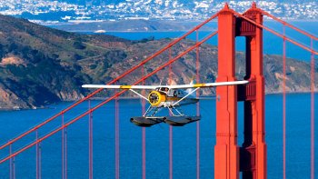 Golden Gate Seaplane Flight