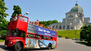 Montreal Hop-On Hop-Off Bus Tour