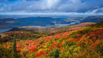Day Trip to the Laurentian Mountains