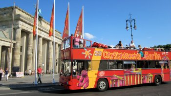 Tour in autobus hop-on hop-off di Berlino