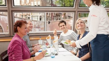 Canal Cruise with a 4-Course Gourmet Dinner & Drinks