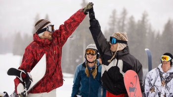 Brighton & Solitude Snowboard Rental Package