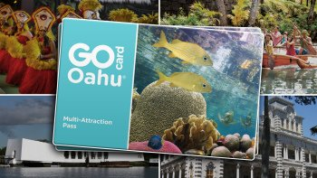 Go Oahu Card: 34 Attractions in 1 Card