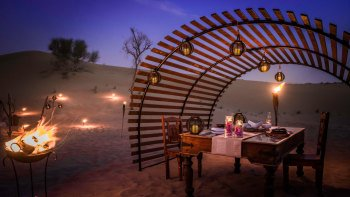 Luxury Desert Safari with 6-Course Dinner
