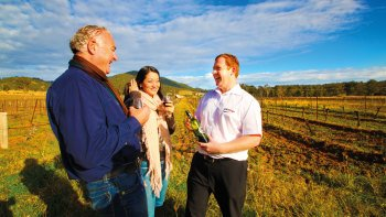 Hunter Valley Harvest Wine Experience
