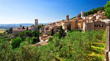 Assisi, Cortona & Perugia Full-Day Tour from Siena