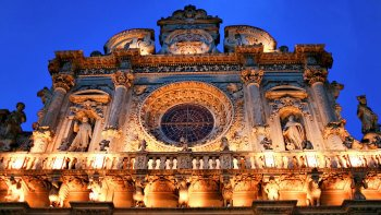 Private Lecce by Night Walking Tour with Starters