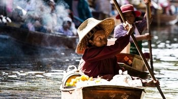 Floating Markets Cycling & Boat Tour