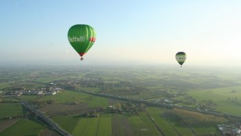 Hot Air Balloon Flight over Emilia-Romagna