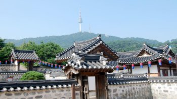 N Seoul Tower, Hanok Village & Korean War Memorial
