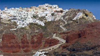 Highlights of Santorini Private Half-Day Tour