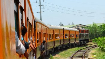 Private Yangon Circular Railway Day Tour