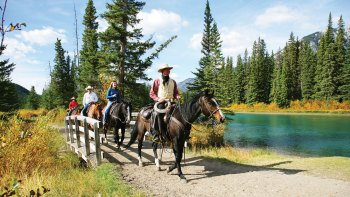 Banff Horseback Riding Tour