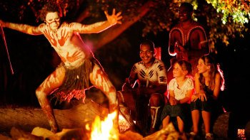 Tjapukai Aboriginal Cultural Park by Night Tour