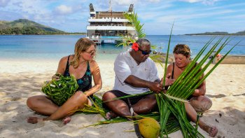 4-Night Fijian Islands & Blue Lagoon Small-Ship Cruise