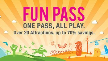 Sentosa Day FUN Pass: 3, 5, or 20 Attractions on 1 Card