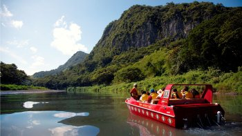 Sigatoka River Jet Boat Cruise & Village Tour with Lunch