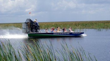 Everglades Airboat Ride with Transportation