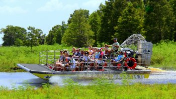Airboat Ride with Transport