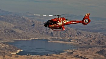 Grand Canyon Helicopter Air Tour with Pick up from Las Vegas