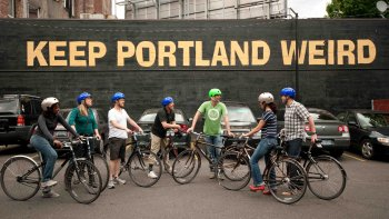 Historic Downtown Portland Cycling Tour