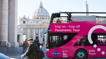 Hop-On Hop-Off Rome Panoramic Bus Tour