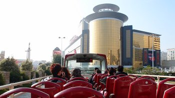 Hop-On Hop-Off Bus Tour with Macau Tower Admission