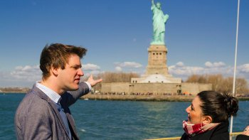 Statue of Liberty, Ellis Island & Battery Park Tour with Pedestal Access