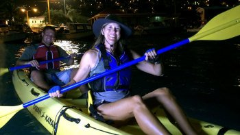 Pirates & Ghosts Night Kayak Tour