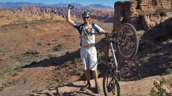 Guided Mountain Biking Tour in the Rockies