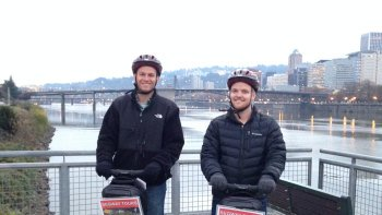 Historical Downtown Portland Segway Tour
