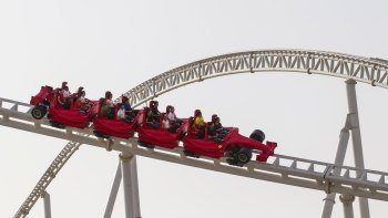 Abu Dhabi Ferrari World Tickets with Transfers from Dubai
