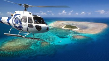 Green Island Helicopter Flight & Reef Cruise