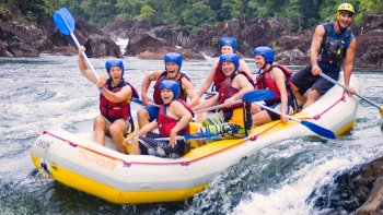 Full Day Classic Tully River Whitewater Rafting with Lunch