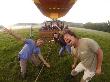 Hot Air Balloon Flight with Champagne breakfast