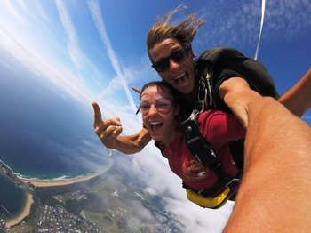 Tandem Extreme Skydive Over Coffs Harbour