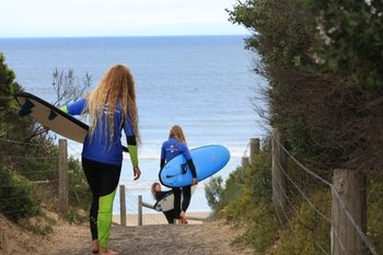 2 Day 'Weekend Warrior' Surf Tour from Melbourne