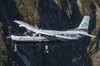 Milford Sound Fly-Cruise-Fly Half Day Tour